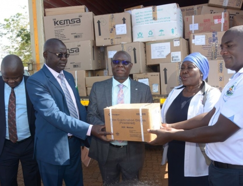 Distribution of Medical Supplies To County Health Facilities