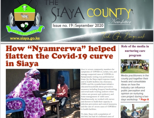 Official 19th Issue – Siaya County Newsletter