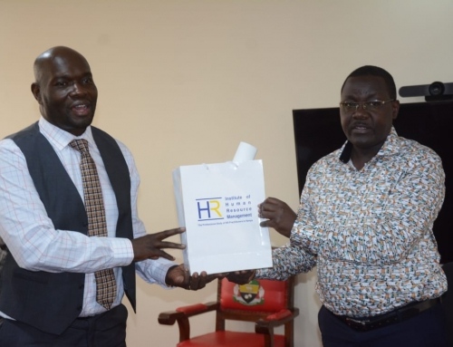 Institute of Human Resource Management To Enter Deal With County Government Of Siaya On Staff Mentorship