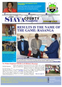 SIAYA MONTHLY NEWSLETTER-ISSUE NO 23