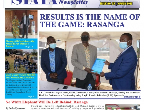 Official 23rd Issue – Siaya County Newsletter